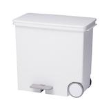 like-it オルア ワイドヨコ型分別ペダルペール25L ホワイト│ゴミ箱 キッチン用ゴミ箱