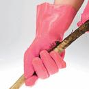 【こするだけ!】 簡単皮むきグローブ ムッキー 女性こども用 ピンク