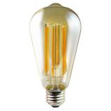 デコライト フィラメント スタンダード アンティーク球 LDS6L/A/S/D 琥珀│LED電球・LED蛍光灯