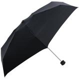HUS. スマートデュオ 晴雨兼用折りたたみ傘 54500 ブラック