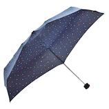 HUS. スマートデュオ 晴雨兼用折りたたみ傘 54540 ドット&ハート