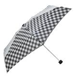 HUS. スマートデュオ 晴雨兼用折りたたみ傘 54543 スラントギンガム