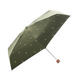 HUS. スマートデュオパラソル テンスターカーキ│レインウェア・雨具 折り畳み傘