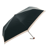 HUS. カーボンEパラソル50 ブラック│レインウェア・雨具 折り畳み傘