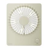 プリズメイト 充電式ウルトラスリムファン モバイルバッテリー機能付 PR‐F017‐WH ホワイト