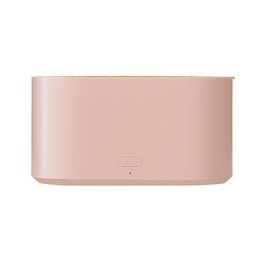 プリズメイト(PRISMATE) 充電式ポータブル加湿器 PR‐HF030‐SP スモーキーピンク