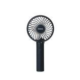 プリズメイト(PRISMATE) 静音ハンディファン アロマトレー付 PR−F072−NV ネイビー│生活家電 扇風機