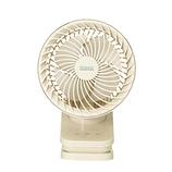 プリズメイト(PRISMATE) コードレス クリップサーキュレーター PR−F061−OW オフホワイト│生活家電 扇風機