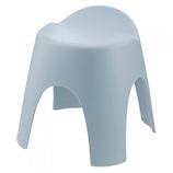 リッチェル アライス 腰かけ 35H ブルー│お風呂用品・バスグッズ 洗面器・風呂桶