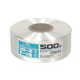 セノハウス用材 カラー平テープ巻 500m 白│梱包資材 荷造り紐