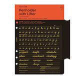 KNOX(ノックス) プロッター 本革ペンホルダーリフター A5 PLT0011-A5 77716444 ブラック