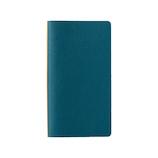 プロッター(PLOTTER) レザーバインダー ナローサイズ 77716495 ブルー│システム手帳・リフィル システム手帳 ミニ6サイズ