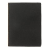 プロッター(PLOTTER) レザーバインダー A5 77716809 ブラック│システム手帳・リフィル システム手帳 A5サイズ