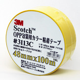 3M OPP包装用カラー粘着テープ 3113PYEL イエロー
