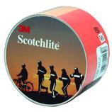 3M スコッチライト 蛍光反射テープ 50mm×50cm 1174 レッドオレンジ