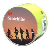 3M スコッチライト 蛍光反射テープ 50mm×50cm 1173 ライムイエロー
