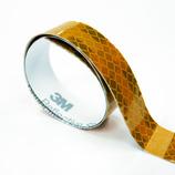 3m フレキシブルプリズム反射テープ 25mm×50cm 3311t イエロー