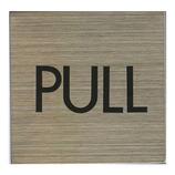 HCP ステンレスサインプレート PULL S‐009