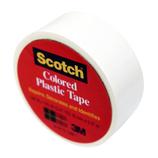 3m スコッチ プラスチックテープ 19mm 190 白