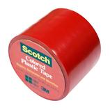 3M スコッチ プラスチックテープ 38mm 191 赤