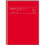 【2018年2月始まり】 デルフィーノ A5マンスリー手帳 スヌーピー クラシック/シンプル P-13030