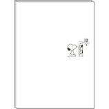 【2018年9月始まり】デルフィーノ A5マンスリー手帳 スヌーピー クラシック ホワイト P-13244