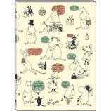 【2018年2月始まり】 デルフィーノ A5マンスリー手帳 ムーミン チラシ MOO-36070