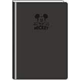 【2018年2月始まり】 デルフィーノ B6手帳 ミッキーミニー ミッキーバッジ DZ-79096