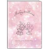 【2018年9月始まり】デルフィーノ B6マンスリー手帳 ミッキー&ミニー 星座 DZ-79459