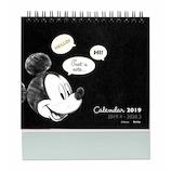 【2019年版・卓上】 デルフィーノ 卓上カレンダー ディズニー DZ-80136 ミッキー&フレンズ/