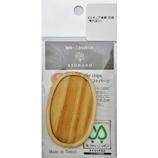 亀島商店 木製ミニチュアパーツ 楕円皿C WP−033│その他 クラフト用品