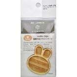亀島商店 木製ミニチュアパーツ プレートうさぎM WP−041