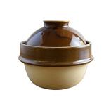 つかもと kamacco 土鍋(土釜)ご飯 益子焼 1合炊き用 直径14cm 飴釉