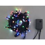 【クリスマス】コロナ産業 LED100球_グリーンコード ミックスカラー