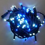 【クリスマス】 LED88球 ストレートライト 白青色 HG88WB