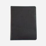 アドヴァンス イタリアンフェイクレザー パスポートカバー ブラック