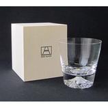 田島硝子 富士山ロックグラス TG15−015−R│食器・カトラリー グラス・タンブラー