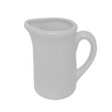 マルウメ 白磁三人用ピッチャー 42mL│茶器・コーヒー用品 ミルクピッチャー・シュガーポット
