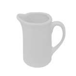 マルウメ 白磁二人用ピッチャー 22mL│茶器・コーヒー用品 ミルクピッチャー・シュガーポット