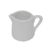 マルウメ 白磁一人用ピッチャー 7.2mL│茶器・コーヒー用品 ミルクピッチャー・シュガーポット