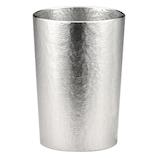 シルキー 錫タンブラー 163-1 ストレート│食器・カトラリー グラス・タンブラー