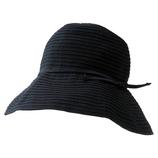 小泉ライフテックス マーベラスクールネオプラス つば広帽子 ブラック