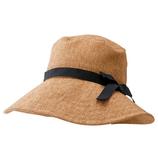 小泉ライフテックス マーベラスクールネオプラス リボン付き 深型帽子 ダークベージュ