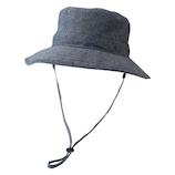 <東急ハンズ> 小泉ライフテックス マーベラスクールネオプラス ひも付きアウトドア帽子 ブラック画像