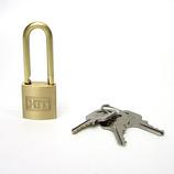HIT シリンダー南京錠 吊長 1-018 20mm│鍵・錠前 南京錠