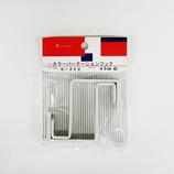 HIT カラーパーテーションフック 6-322 45mm 白