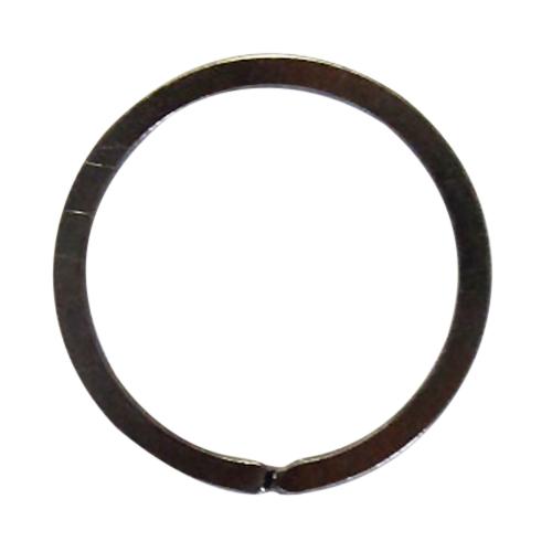 ツチノ 平形キーリング 黒ニッケル25mm
