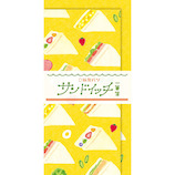 古川紙工 紙製パン 一筆箋 サンドイッチ LI326