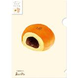 古川紙工 レトロ日記 クリアファイル A5サイズ 2柄入り  QF110 菓子パン│ファイル クリアホルダー
