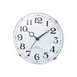NOA テーブルクロック パドメラミニ W−614 ホワイト│時計 置き時計